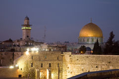 Israel - Dome Of The Rock in Jerusalem Stock Images