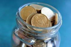 Israel Economy - israeliska pengar Royaltyfria Bilder