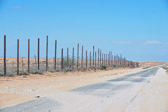 Israel Egypt barrier Royalty Free Stock Photo