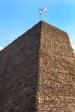 Israel, ein alter Ziegelsteinturm 1 Lizenzfreie Stockfotografie