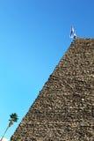 Israel, ein alter Ziegelsteinturm Lizenzfreies Stockfoto