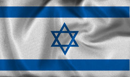 Israel flag Royalty Free Stock Photo