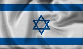 Israel flag Royalty Free Stock Photo