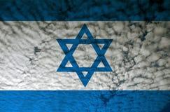 Israel flag Stock Photography
