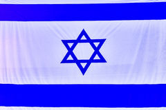 Israel Flag, back israeli emblem travel sign Royalty Free Stock Photos