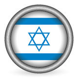Israel flag button Stock Images