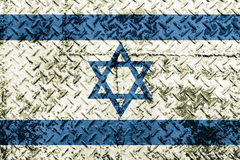 Israel flag. Royalty Free Stock Images