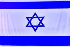 Israel Flag, het achter Israëlische teken van de embleemreis Royalty-vrije Stock Foto's