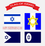 Israel Flag INDEPENDENCE DAY Royalty Free Stock Images