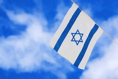 Israel Flag on Independence Day Royalty Free Stock Image