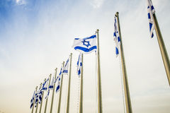 Israel Flag Royalty Free Stock Image