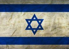 Israel Flag op papier royalty-vrije illustratie