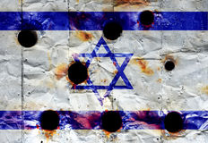 Israel flag Stock Image