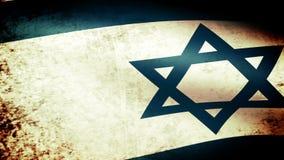 Israel Flag Waving, mirada del grunge libre illustration