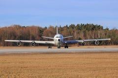 Israel - flygvapen Boeing 707-3L6C Arkivfoton