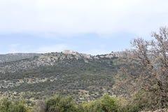 israel galiläa Nimrod Fortress Lizenzfreie Stockfotografie