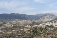 israel galilee Royaltyfria Bilder
