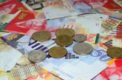 Israel-Geld Lizenzfreies Stockfoto