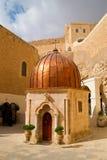 Israel - Greek Monastery of Mar Saba (St.Sabbas) Royalty Free Stock Photography