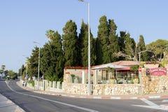 Israel Haifa, Stella Maris royaltyfria foton