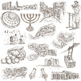 Israel - An hand drawn collection. Full sized freehands. Stock Photography
