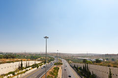 Israel Highway Stock Photo