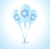 Israel Independence Day balloons Stock Images