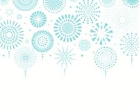 Israel Independence Day fireworks background. Israel Independence Day background with blue fireworks, confetti. Isolated objects on white. Vector illustration vector illustration