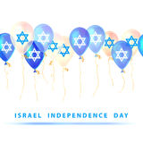 Israel independence day. Vector Royalty Free Stock Photo