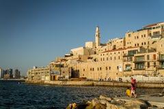 Israel Jaffa puerto 1 de junio Imagen de archivo libre de regalías