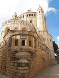 Israel, Jerusalén Abadía de la suposición de la Virgen María Fotos de archivo