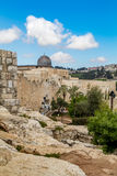 Israel, Jerusalén al-Aqsa mezquita 4 de abril de 2015 Fotografía de archivo