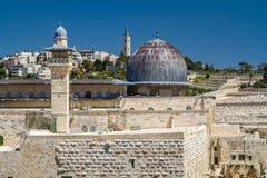 Israel, Jerusalén al-Aqsa mezquita 4 de abril de 2015 Imagen de archivo