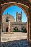 Israel, Jerusalén Catedral anglicana de San Jorge Fotografía de archivo libre de regalías
