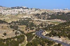 israel jerusalem Arkivfoto