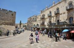 israel jerusalem arkivfoton