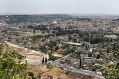 israel jerusalem Arkivbild