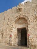 Israel, Jerusalem. Abbey wall Dormitsion Royalty Free Stock Images