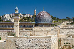 Israel, Jerusalem Al-Aqsa Mosque April 4, 2015 Stock Image