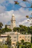 Israel Jerusalem Dormition Abbey April 4, 2015 Immagini Stock
