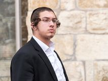 A jewishyoung  man Royalty Free Stock Images