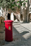 Israel, Jerusalem, mailbox near Chabad. Royalty Free Stock Photos