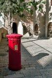 Israel, Jerusalem, mailbox near Chabad. Chabad Jewish Quarter in the Old City of Jerusalem Royalty Free Stock Photos