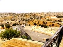 Israel Jerusalem, Mellanösten, byggd struktur, gammal stad Arkivbilder