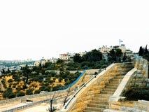 Israel Jerusalem, Mellanösten, byggd struktur, kyrka Royaltyfria Bilder