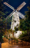 Israel, Jerusalem, Montefiore windmill. The old quarter of Yemin Moshe in Jerusalem Stock Photos