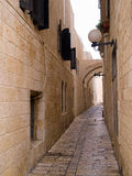 Israel - Jerusalem Old City Alley Royalty Free Stock Photo