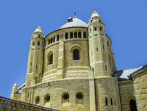 Israel. Jerusalem. Old city. The south wall. Dormition Monastery Stock Photography