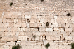 Israel. The Jerusalem wailing wall Royalty Free Stock Photo