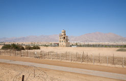 Israel - Jordan border Stock Photography